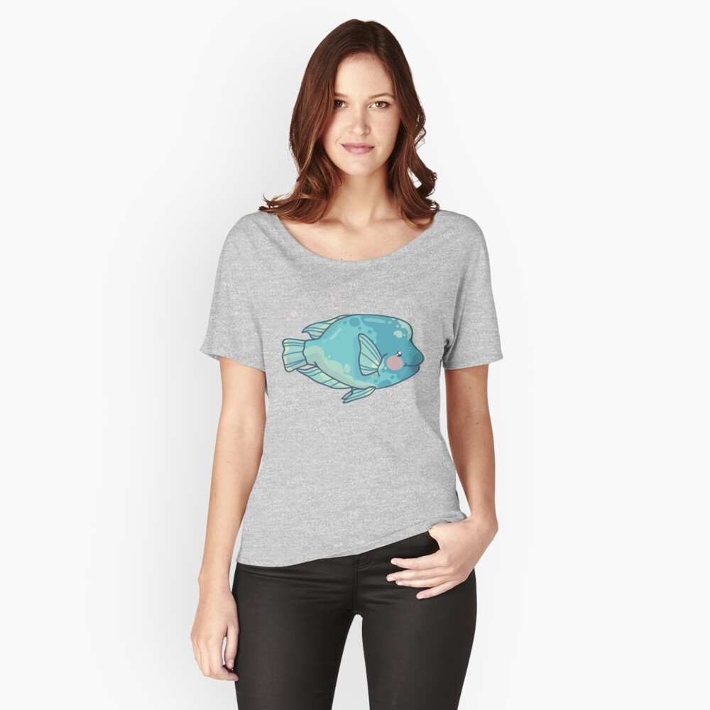 Humphead Wrasse (Huevember 2018) Relaxed Fit T-Shirt