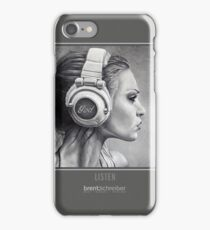 LISTEN iPhone Case iPhone Case/Skin