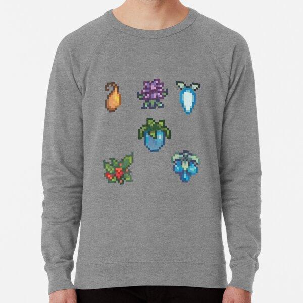 Winter Crops Set Stardew Valley Lightweight Sweatshirt