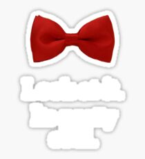 Bowties are cool. Sticker