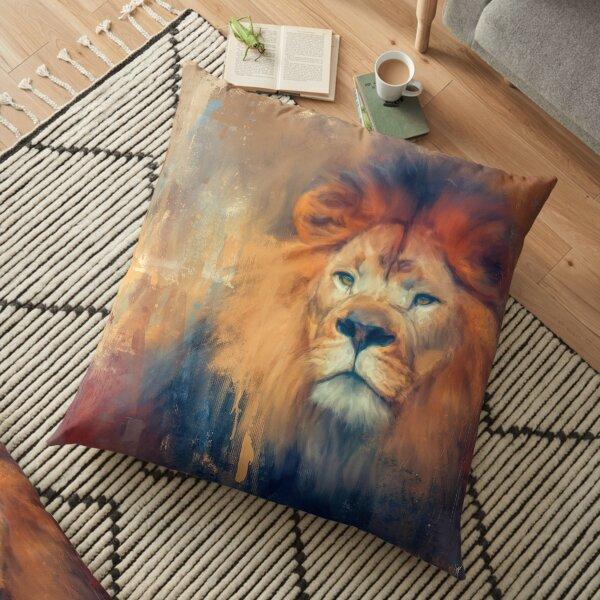 Lion Energy Floor Pillow
