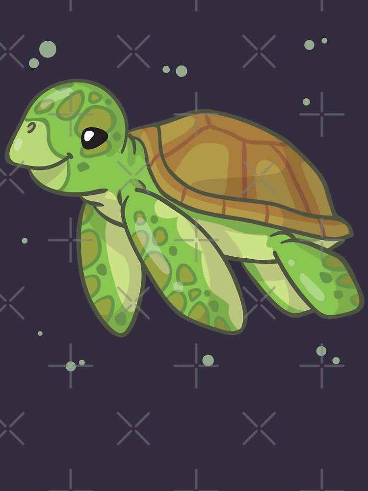 Green Sea Turtle (Huevember 2018) by bytesizetreas