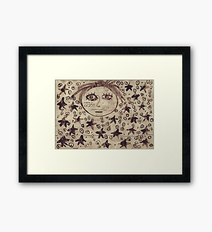All Across The Universe Framed Print