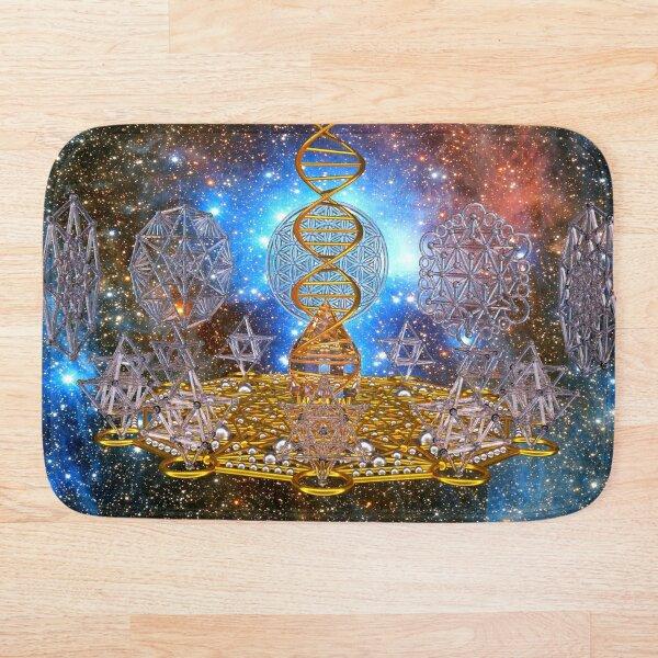 Crystal Stargate DNA Healing Code Bath Mat
