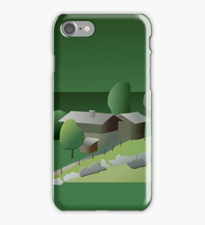 Once upon a time in Ballenberg (T-Shirt & iPhone case) iPhone Case/Skin