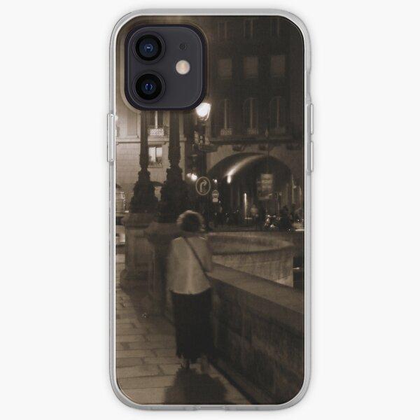 Pont Neuf at Night iPhone Soft Case