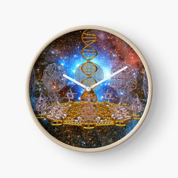 Crystal Stargate DNA Healing Code Clock