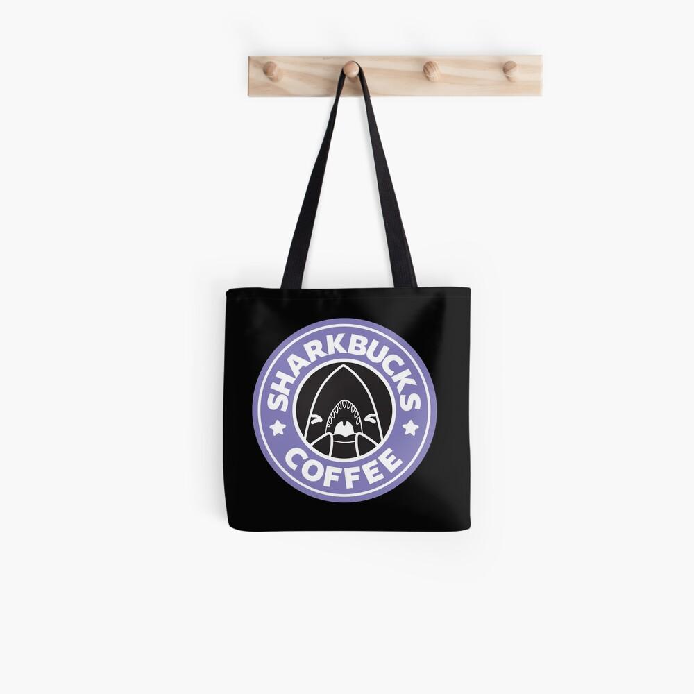 Sharkbucks (Purple) Tote Bag
