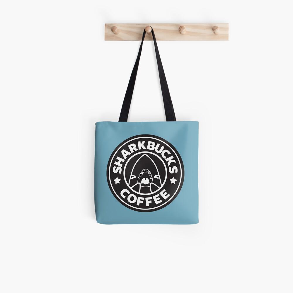 Sharkbucks (Black) Tote Bag