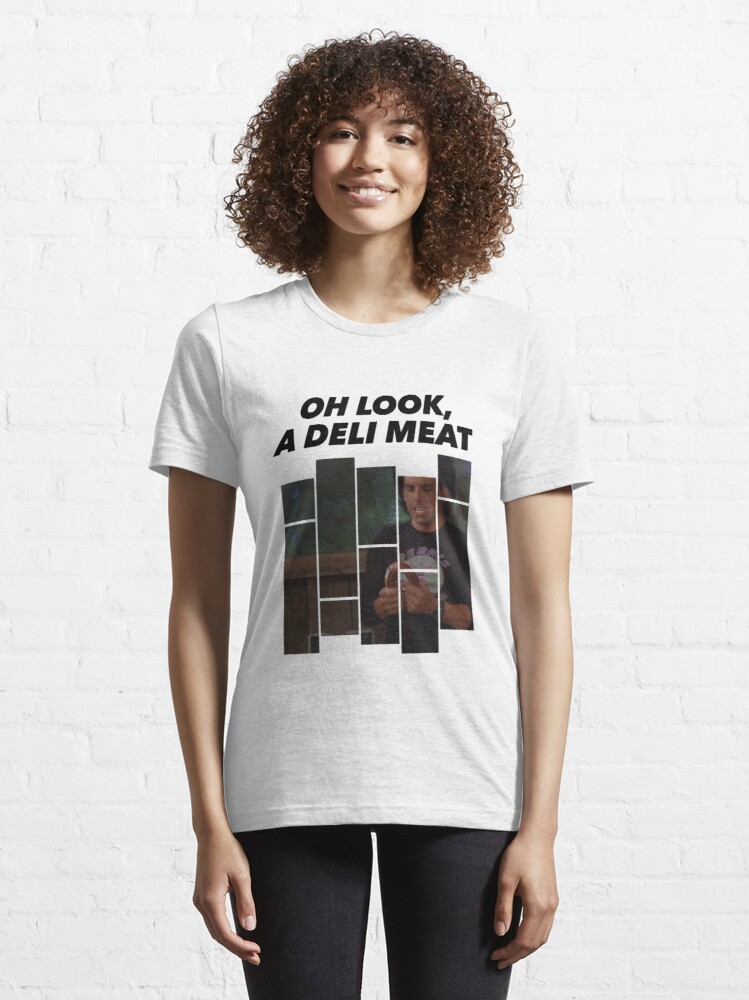 Alternate view of Heavyweights / Oh Look a Deli Meat Essential T-Shirt