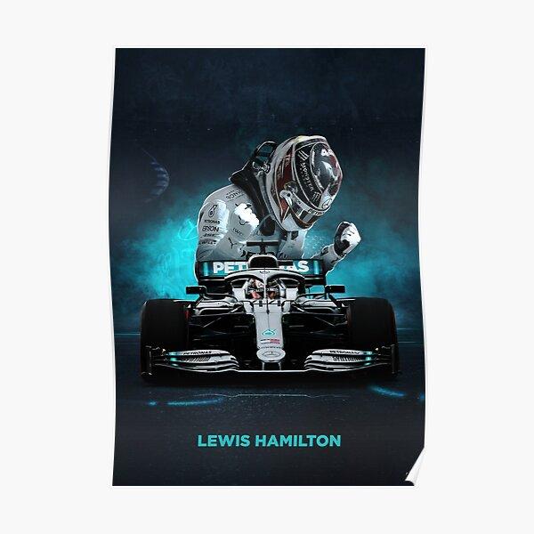 Lewis Hamilton Formula 1 poster Poster