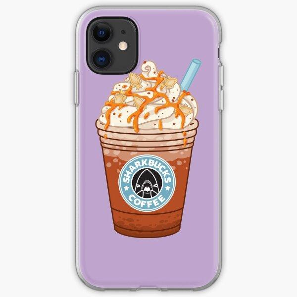 Pumpkinseed Sunfish // Sharkbucks Frappucino iPhone Soft Case