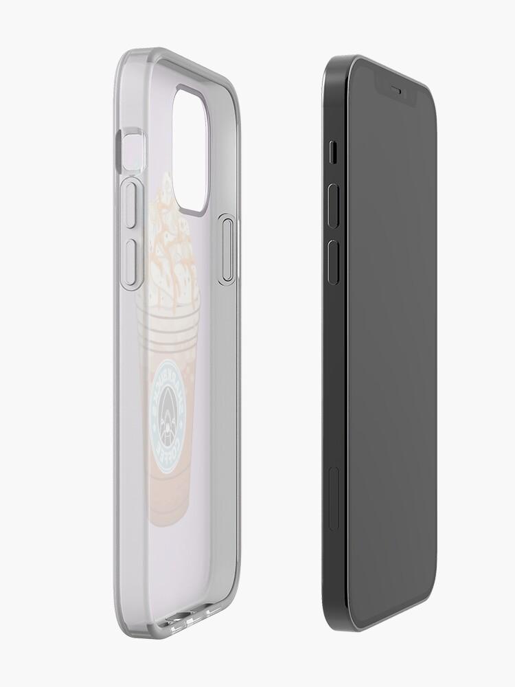 Alternate view of Pumpkinseed Sunfish // Sharkbucks Frappucino iPhone Case & Cover