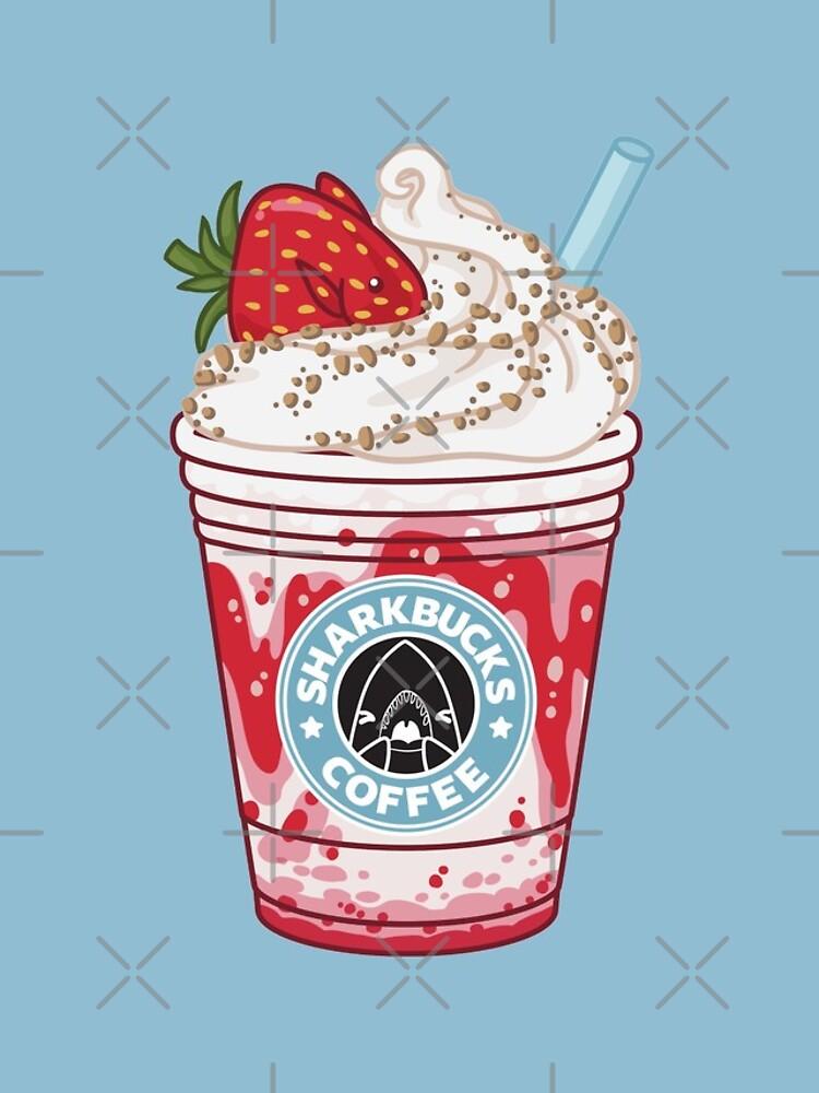 Strawberry Dottyback // Sharkbucks Frappucino by bytesizetreas