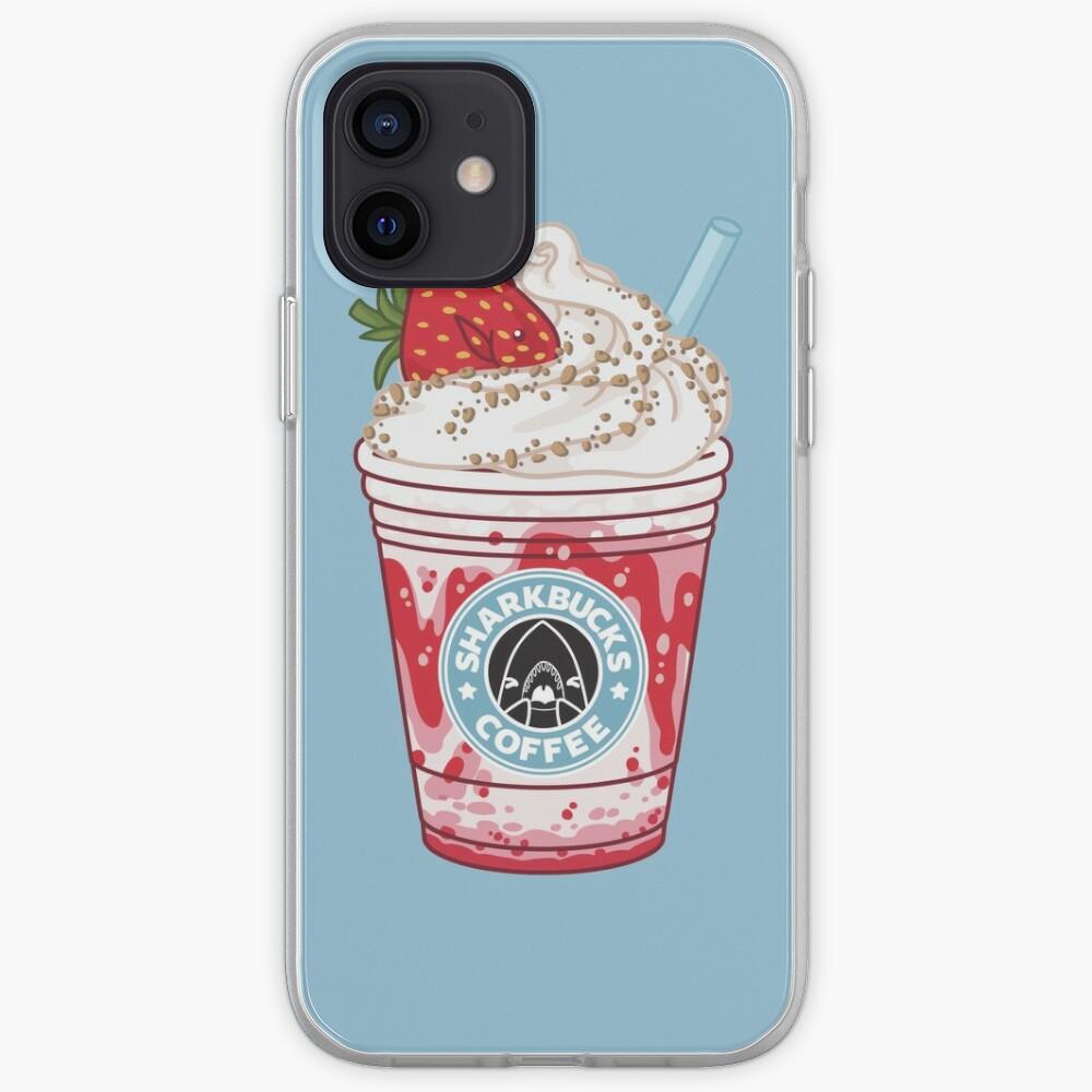 Strawberry Dottyback // Sharkbucks Frappucino iPhone Case & Cover
