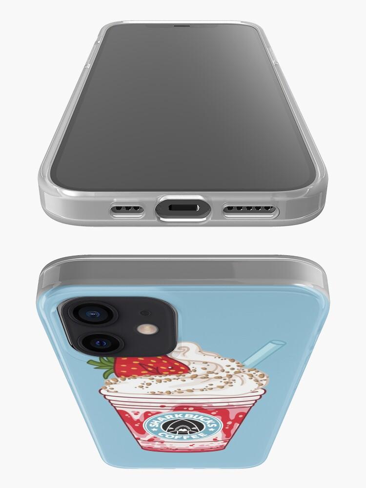 Alternate view of Strawberry Dottyback // Sharkbucks Frappucino iPhone Case & Cover