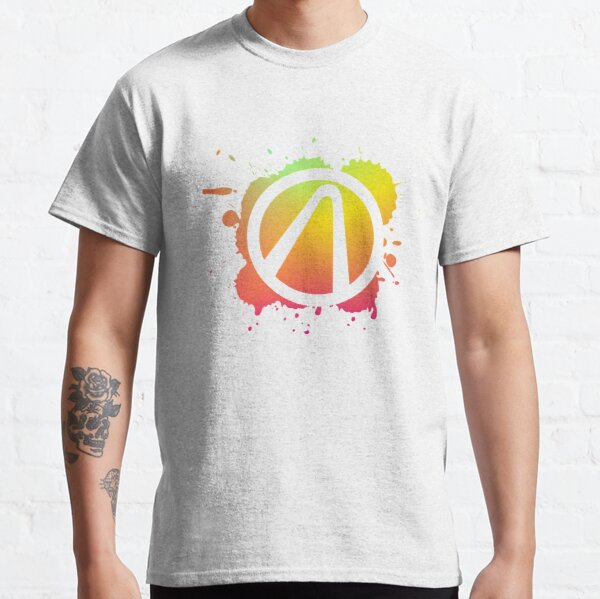 Borderlands Vault Symbol Splatter Gradient Classic T-Shirt