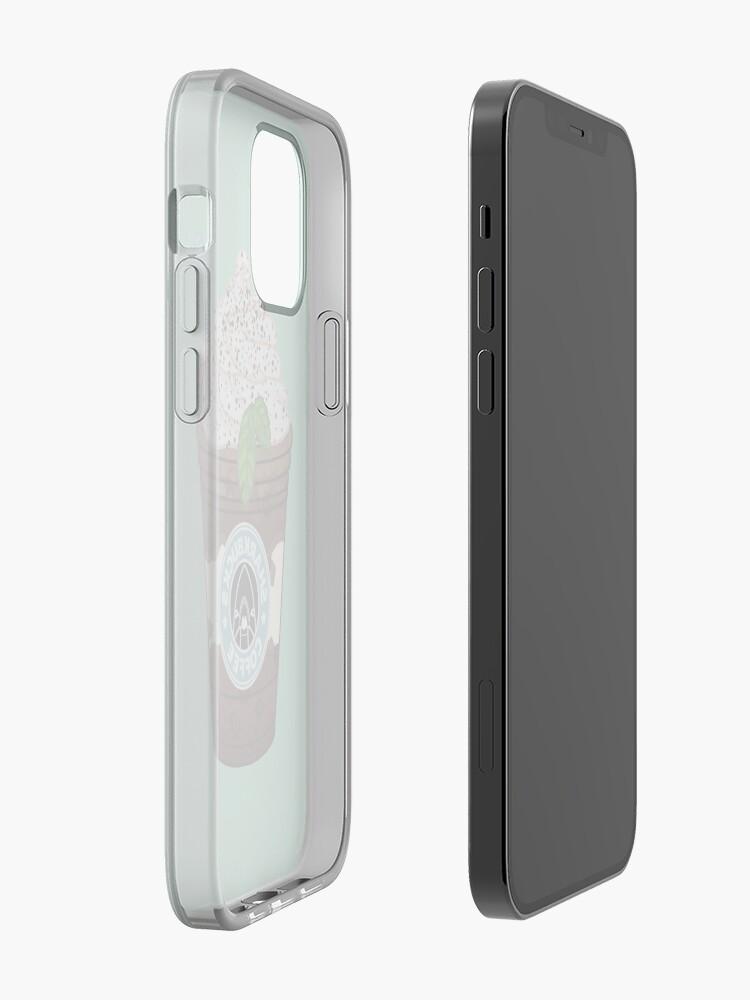 Alternate view of Midnight Angelfish // Sharkbucks Frappucino iPhone Case & Cover