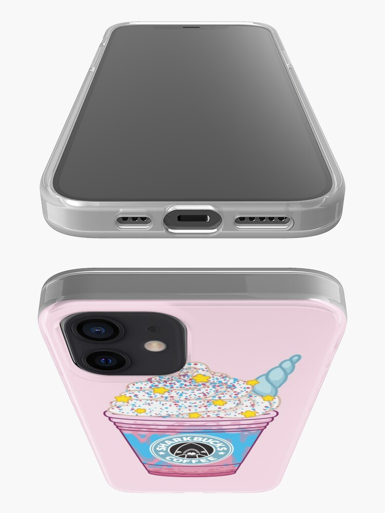 Alternate view of Magical Narwhal // Sharkbucks Frappucino iPhone Case & Cover