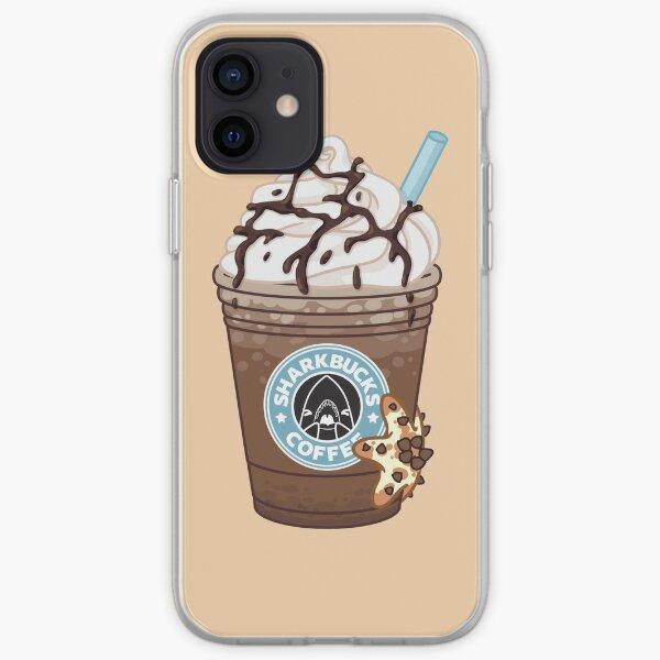 Chocolate Chip Starfish // Sharkbucks Frappucino iPhone Soft Case