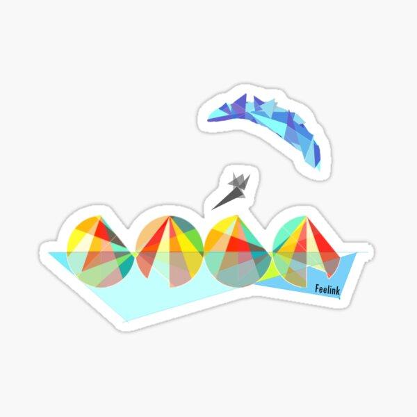 Paragliding pilot Sticker