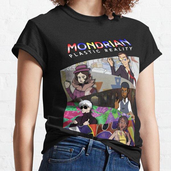 Mondrian - Panels Classic T-Shirt