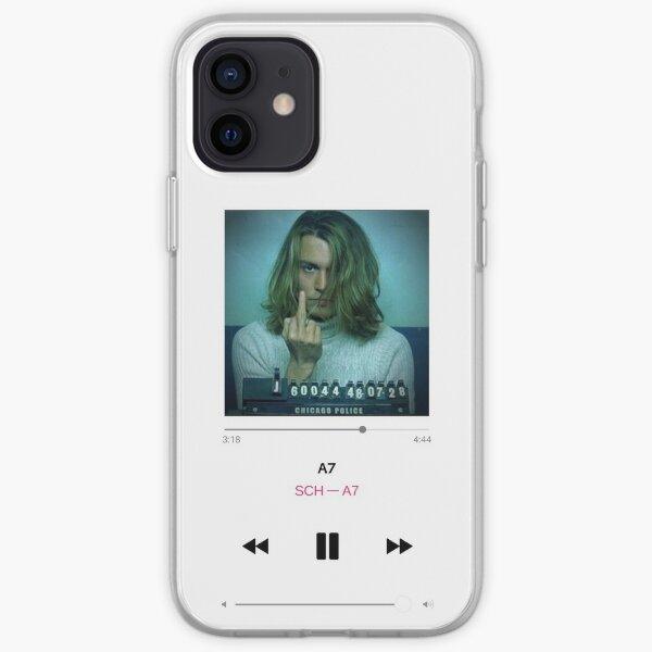 SCH A7 - Blow Johny Depp Coque souple iPhone