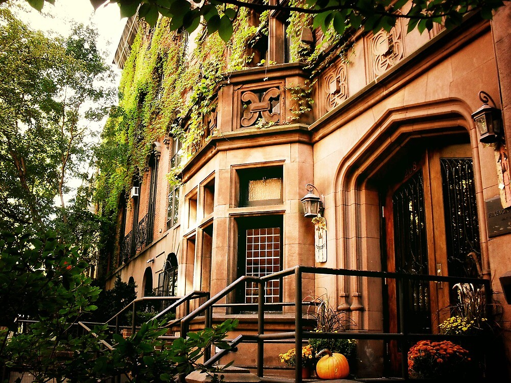Autumn - Stuyvesant Square - New York City by Vivienne Gucwa
