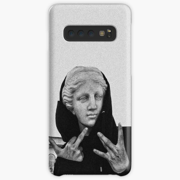 Greek statue Wearing Hoodie Samsung Galaxy Snap Case