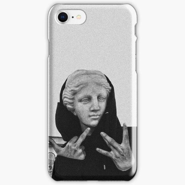 Greek statue Wearing Hoodie iPhone Snap Case