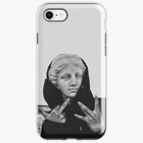 Greek statue Wearing Hoodie iPhone Tough Case