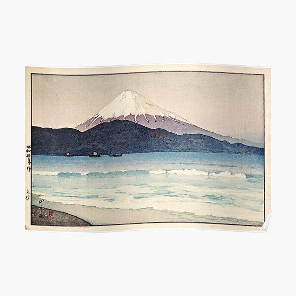 Hiroshi Yoshida - Mount Fuji from Miho Poster