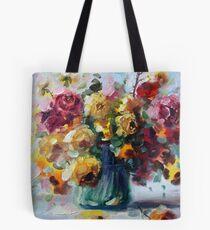 Tereza roses.. Tote Bag