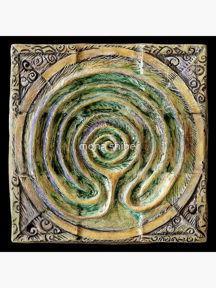 Spiral nine: toward center by MonaShiber