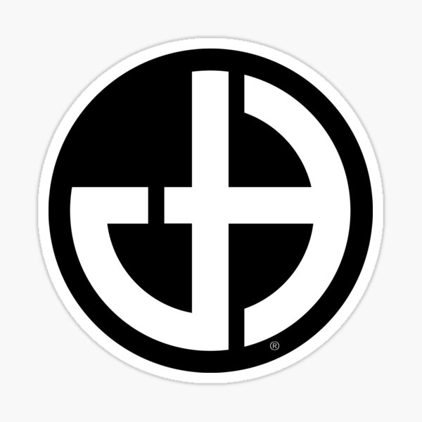 Jeff Hobrath Art Studio Brand Logo Sticker