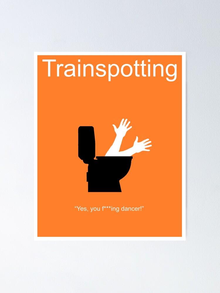 TRAINSPOTTING Alternative Minimal Movie Poster