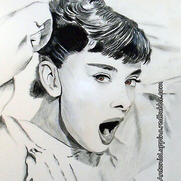 Audrey Hepburn (in Roman Holiday) IPhone Case by antonioluppino