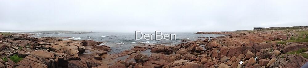 Newfoundland coast by DerBen