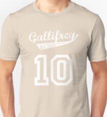 Gallifrey All-Stars: Ten Unisex T-Shirt