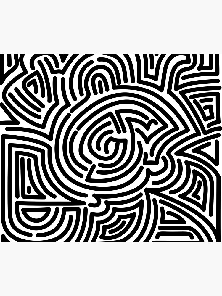 Haring Style #1 by Texterns