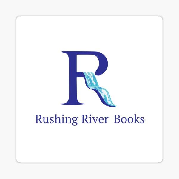 Rushing River Books Logo Sticker