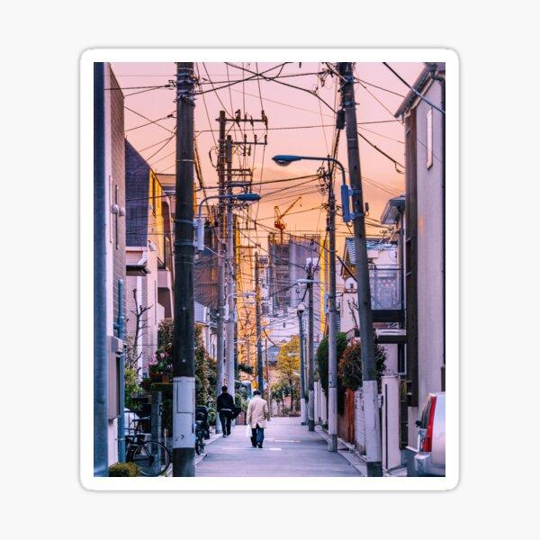 Tokyo - Forêt de câbles Sticker