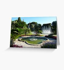 Water Features  Greeting Card