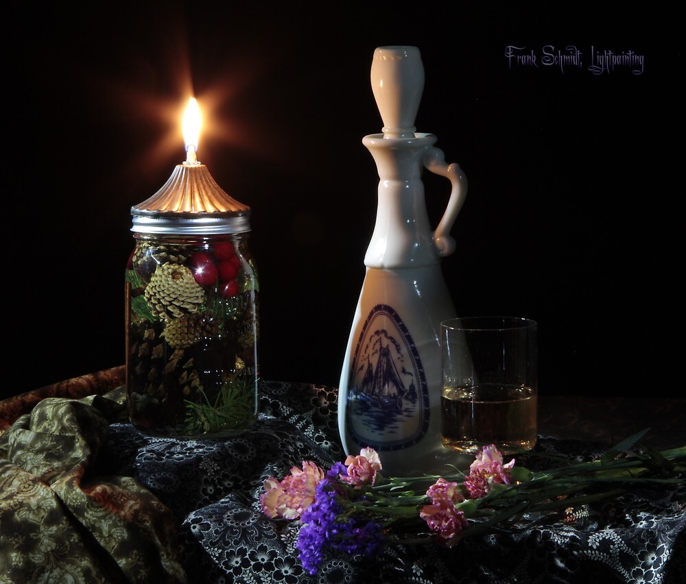 Oil Lamp Delft by FrankSchmidt