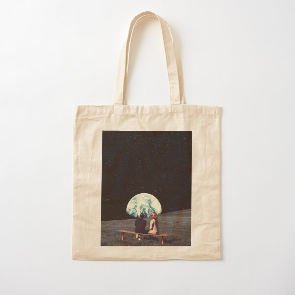 We Used To Live There Cotton Tote Bag