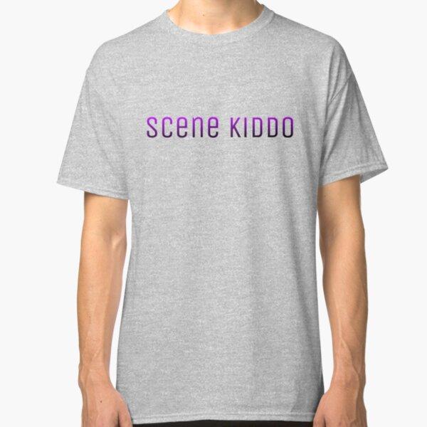 Scene Kiddo PurplexBlack Gradient Text Classic T-Shirt