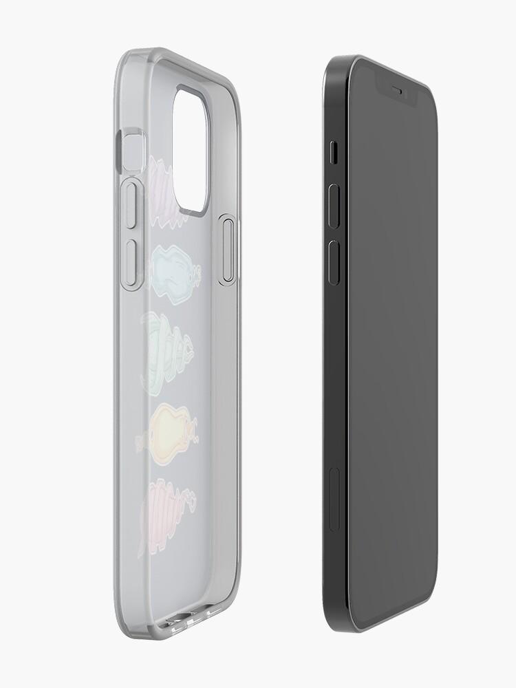 Alternate view of Shark Eggs // Mermaid Purses (Rainbow) iPhone Case & Cover