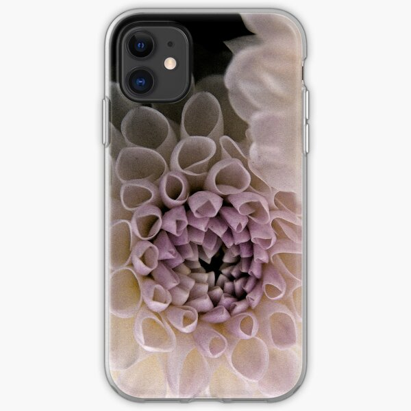 Dahlia in Pink (iPhone case) iPhone Soft Case