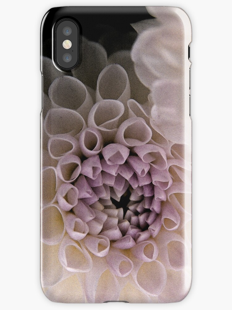 Dahlia in Pink (iPhone case) by Lenka