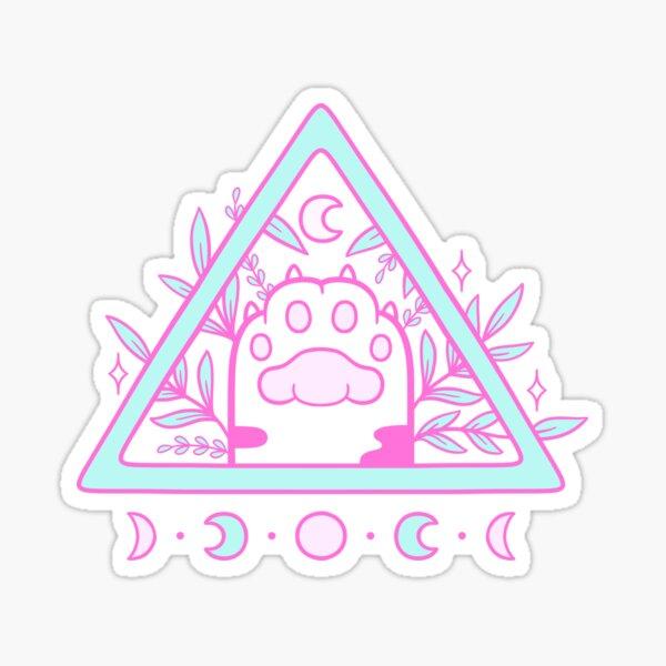 Witchy Cat Paw 02 Sticker
